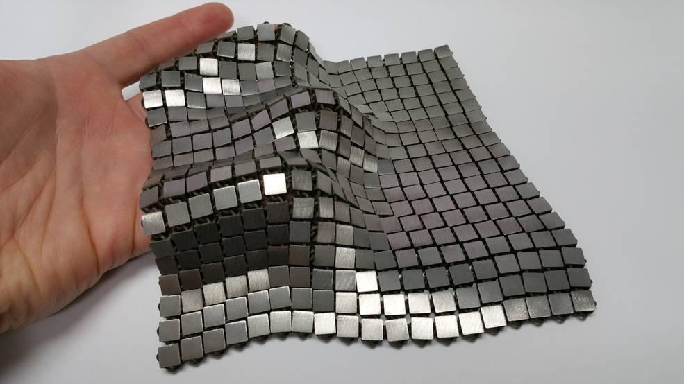 Представители NASA создали металлическую ткань по методу 4D-печати