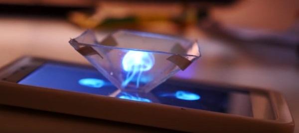 Превращение смартфона в проектор голограмм с помощью 3D-печати