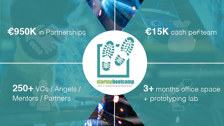 Приглашаем Вас принять участие в Startupbootcamp IoT   Connected Devices в Лондоне