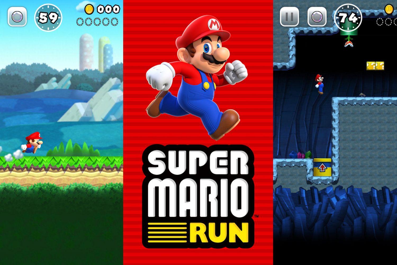 Приложение Super Mario Run по скачиваниям обошло Pokеmon GO