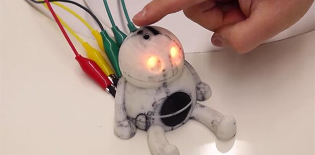 PrintPut: система интеграции сенсоров в напечатанные на 3D-принтере объекты