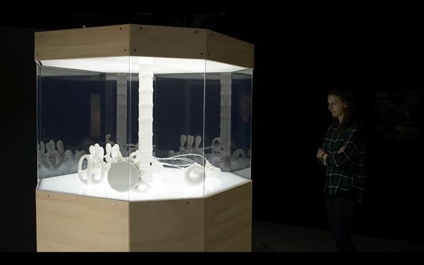 Проект Exo-biote вдохнул жизнь в 3D-печатных гибких роботов