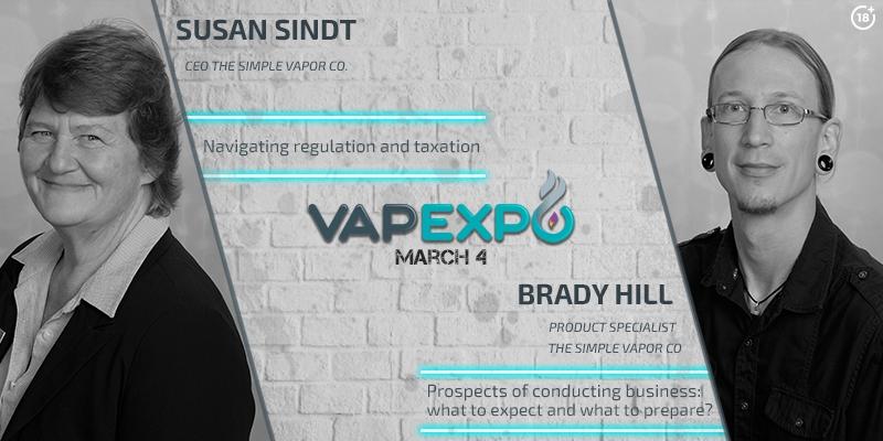 Prospects of the Ukrainian and American vape markets: Simply Vapor representatives at VAPEXPO Kiev 2017