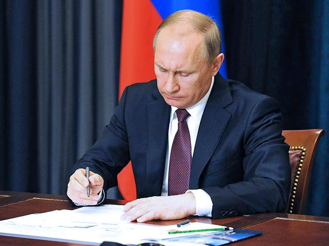 Путин подписал закон о запрете денежных переводов в Украину