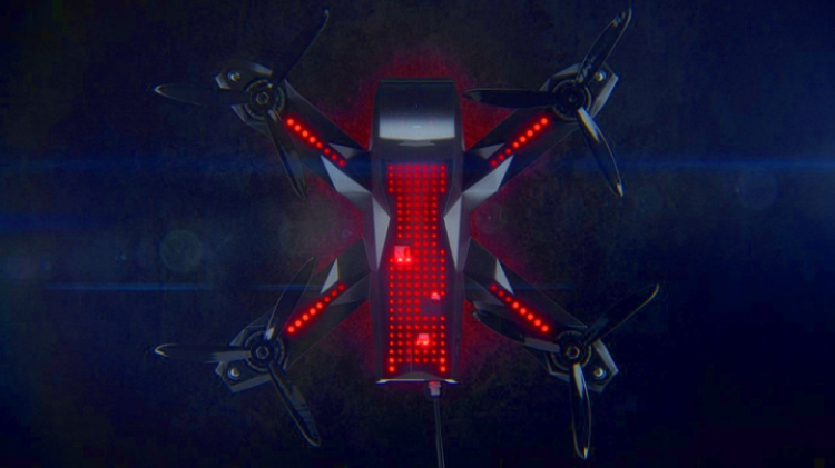 Racer3 – новинка от Drone Racing League