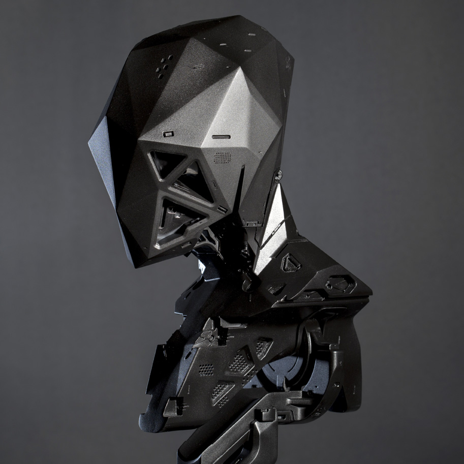 Designer's Dream Cyborg 3D Printed into Reality