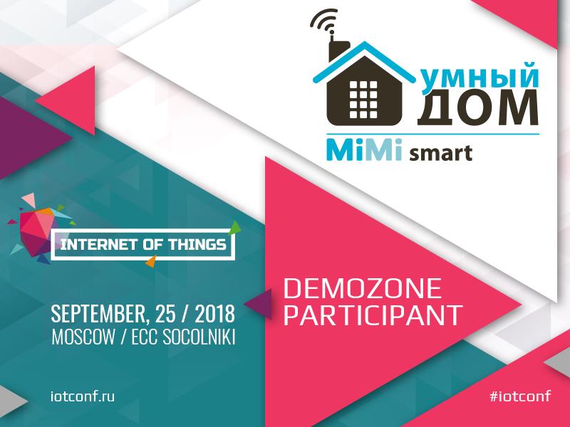 Developer of smart home solutions Mimismart to participate in the demo zone