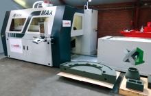Реставрация антикварного автомобиля с помощью 3D-принтера, печатающего песком
