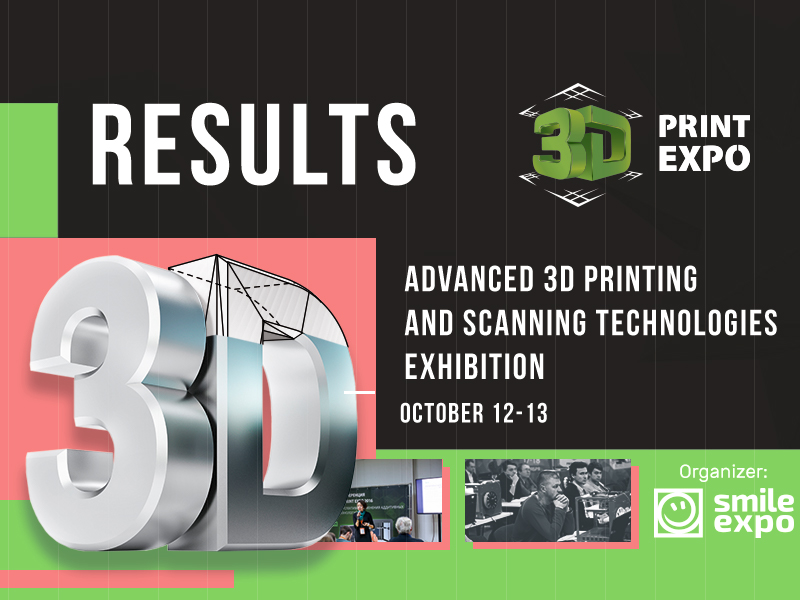 Results of 3D Print Expo 2018