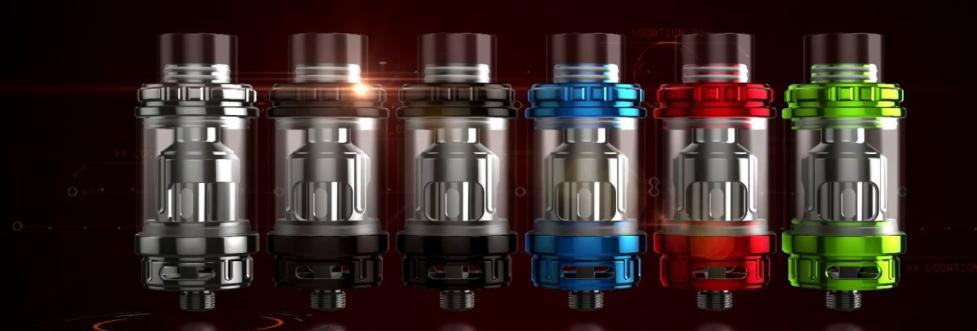Revolvr Tank RBA by Sigelei: vaporizers instead of bullets