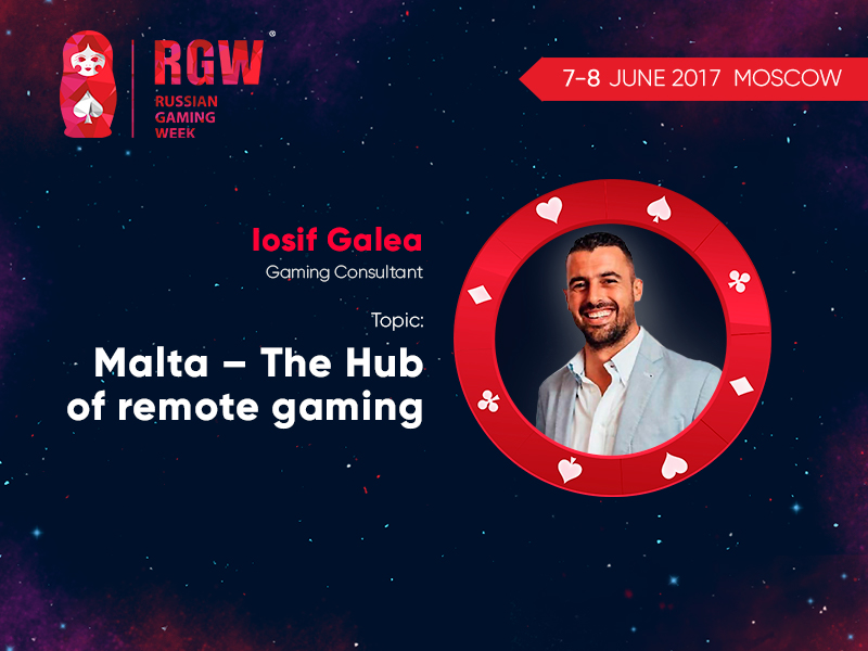 RGW 2017: Malta representative Iosif Galea will tell how the country became a European gambling business hub