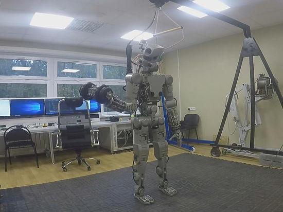 Робот «Федор» сбросит лишний килограмм и полетит в космос