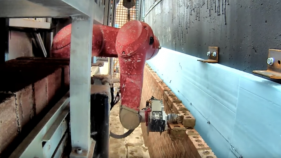 Robotic arms can put builders out of a job