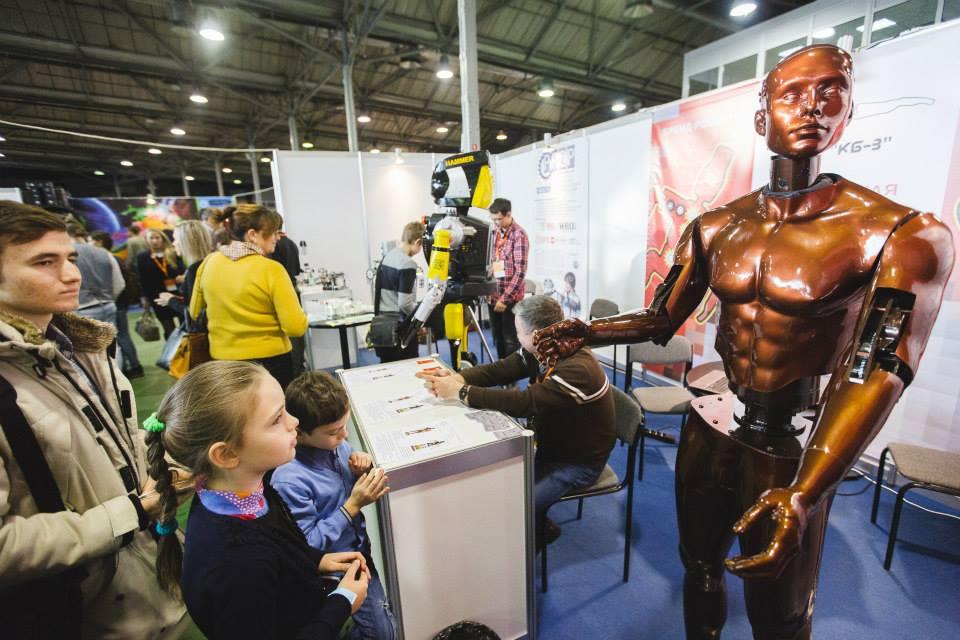 Robotics Expo 2014 — итоги крупнейшей выставки робототехники в России