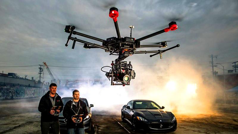 Российские дроны в Голливуде. Опыт Владимира Белого