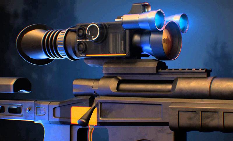 Российские снайперы будут использовать умный прицел IWT LF640 PRO