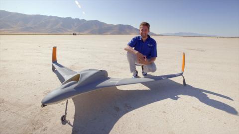 Самый крупный 3D-печатнный беспилотник прошел испытания в Дубае