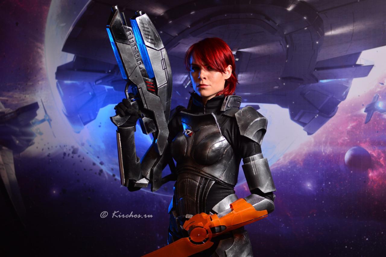 Самый яркий косплей по культовой серии игр Mass Effect