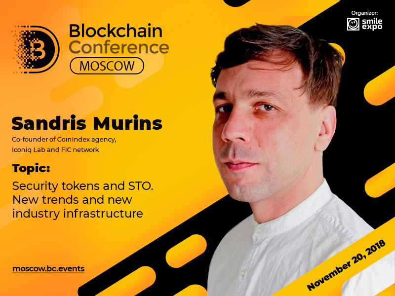 Sandris Murins, Co-Founder of CoinIndex and Iconiq Lab: presentation on crypto derivatives