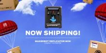 Сегодня началась отправка компактных 3D-принтеров MakerBot Replicator Mini