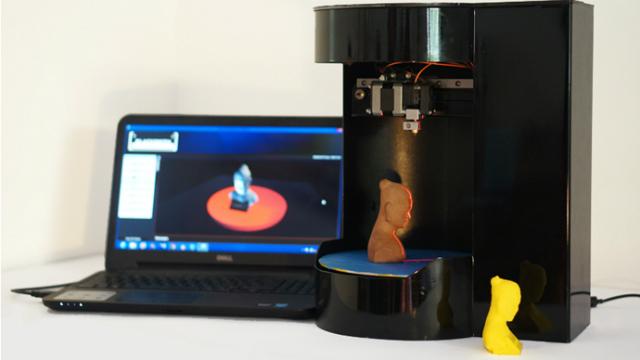 Сингапур представляет первый портативный 3D-принтер-сканер