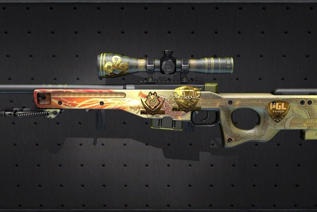 Скин оружия из CS:GO был продан за 61 тыс. долларов