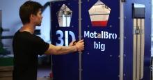 Скорость печати гигантского 3D-принтера MetalBro BIG достигает 600 мм/сек