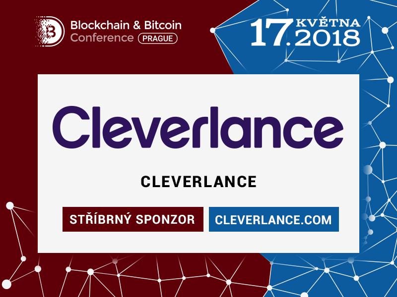 Skupina Cleverlance se stala stříbrným sponzorem Blockchain & Bitcoin Conference Prague