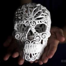 Сладкая и зловещая - 3D печать The Sugar Lab и Джоша Харкера