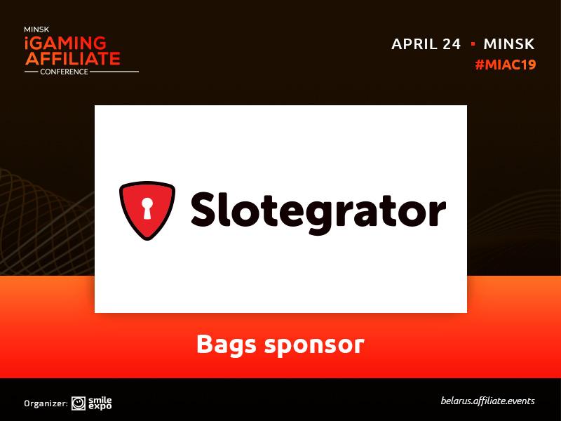 Slotegrator – Bag Sponsor of Minsk iGaming Affiliate Conference