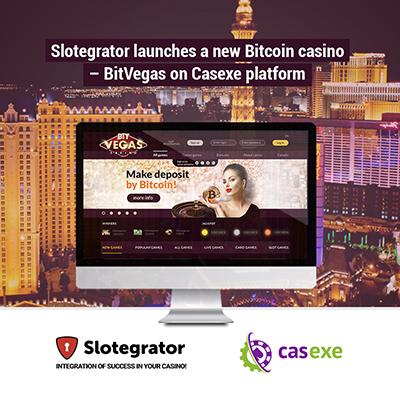 Slotegrator представляет новое онлайн-казино BitVegas