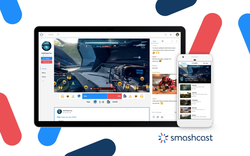 Smashcast.tv streaming platform is launched