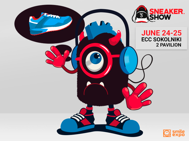 Sneaker.Show: participate in a charity event and get a ticket to the sneaker exhibition!