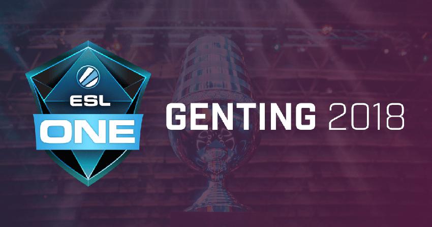 СНГ-команды по Dota 2 начинают сражение за слот на ESL One Genting 2018