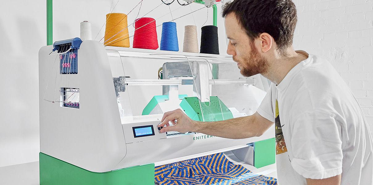 Создан 3D-принтер, который «вяжет» одежду
