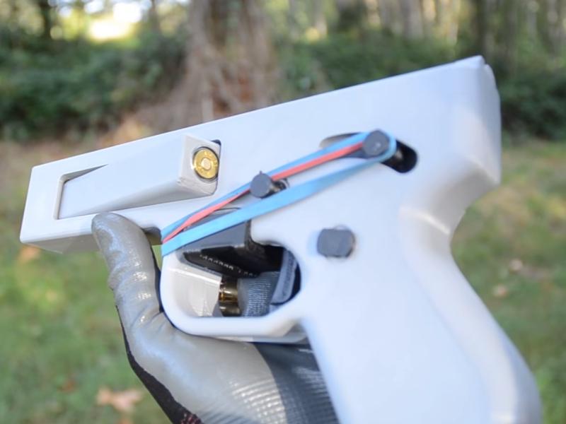 Создан надёжный 3D-печатный пистолет, который можно модифицировать под разные патроны