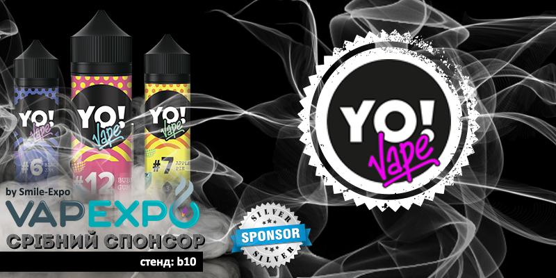 Срібний спонсор VAPEXPO Kiev - титулований виробник YoVape