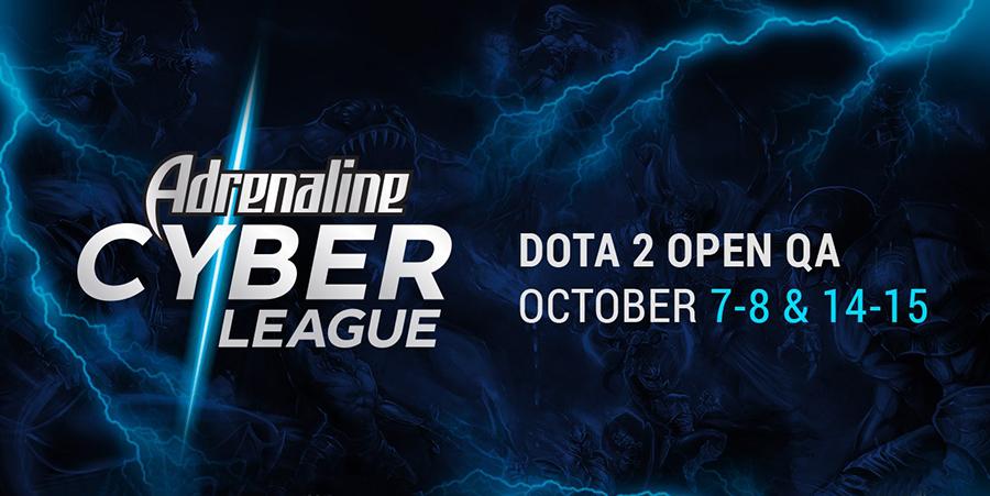 Стали відомі три команди, які запрошені на Adrenaline Cyber League 2017 з Dota 2
