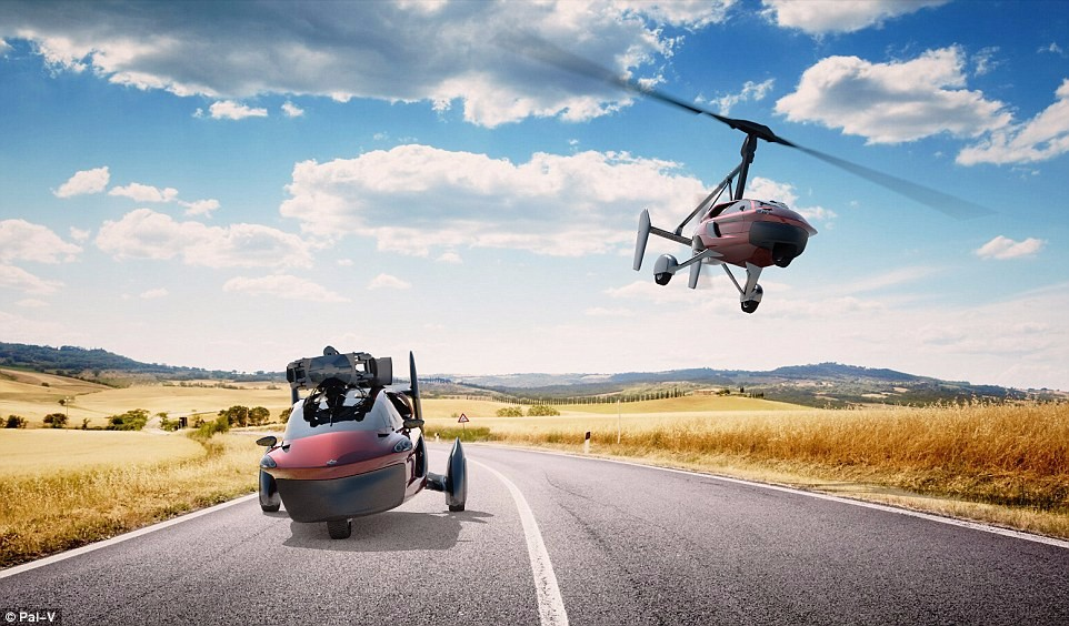Autonomous flying vehicle Liberty started receiving orders