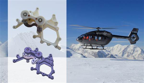 Стеклоочистители для вертолетов Airbus будут печатать на немецком 3D-принтере RepRap