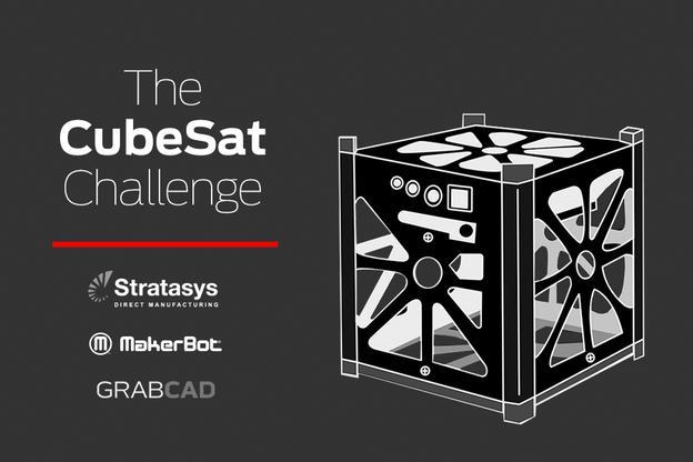 Stratasys проводит конкурс по проектированию мини-спутников нового поколения