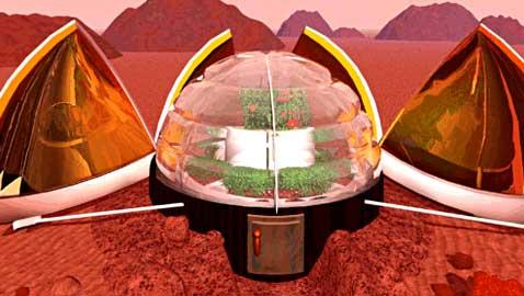 Строим на Марсе при помощи 3D-принтеров