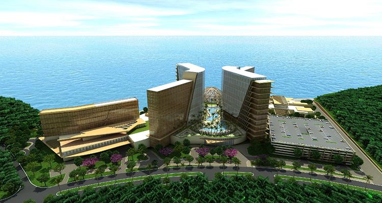Строительство игорно-развлекательного комплекса «Маяк» идет полным ходом