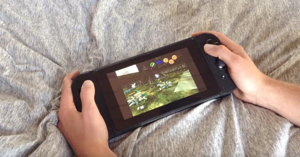 Студент провел лето за созданием хендмейд-копии Nintendo Switch