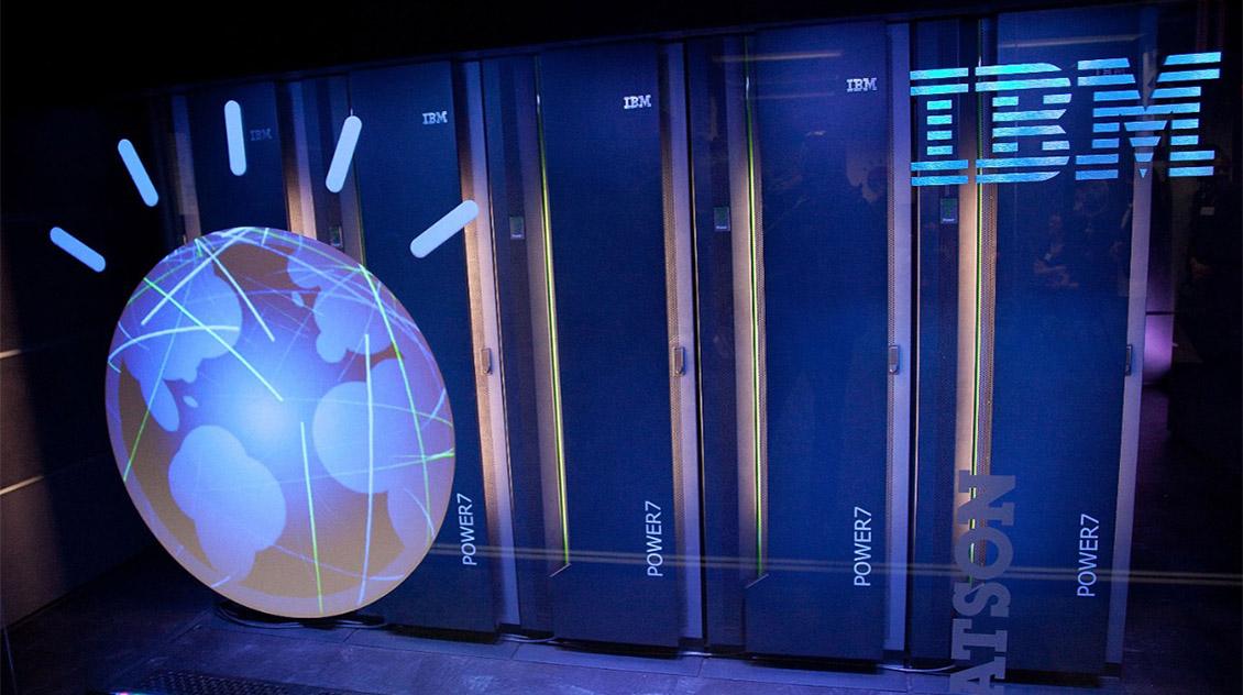 Суперкомпьютер Watson говорит с людьми