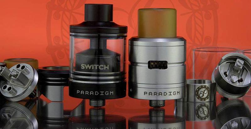 Switch от Paradigm Mods – атомайзер в форматах дрипки и бака