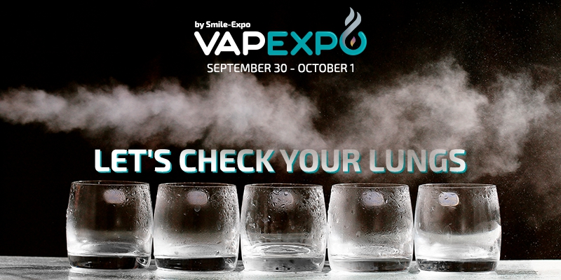Take a deep breath and win! New challenge will check volume of your lungs at VAPEXPO Kiev 2017
