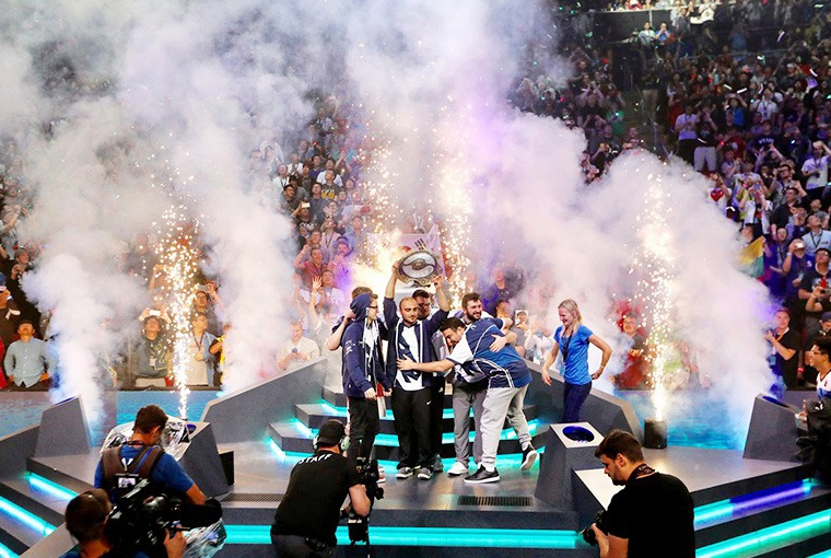 Team Liquid - The International 2017 champion