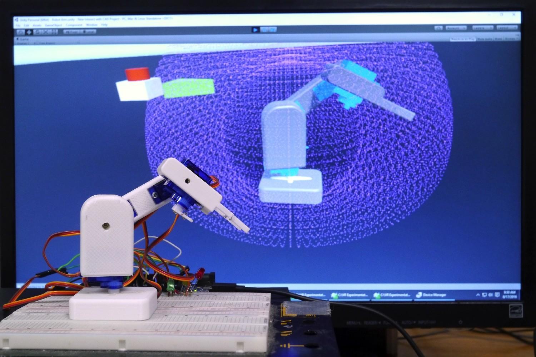 Технологии 3D-печати и виртуальной реальности упростят процесс обучения роботов
