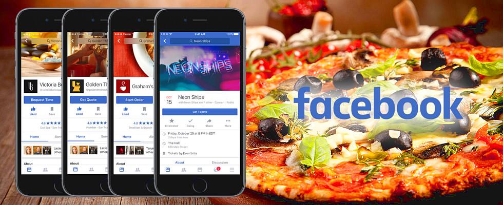 Теперь доставку еды можно заказать через Facebook